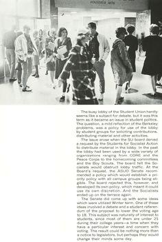 Pt. 10 of recap of 1964-65 Oregon school year. From the 1965 Oregana (University of Oregon yearbook). www.CampusAttic.com