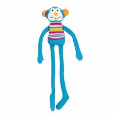 Lily & George have a sweet and fun collection of colourful knit toys that are full of character. They make a lovely friend for any new baby or little one. Max the Monkey features a soft waffle knit and measures 40cm tall.