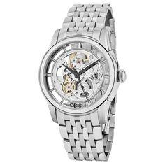 Oris Men's 734 7684 4051 MB 'Artelier Translucent' Skeleton Dial Swiss Automatic Watch