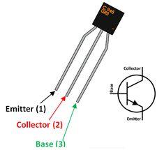 C945 transistor pinout in 2019