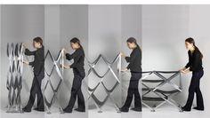Accordion Shelves by Alma Vander Molen, via Behance