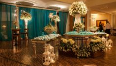 Casamento Azul Tiffany | Noivinhas de Luxo  www.noivinhasdeluxo.com.br