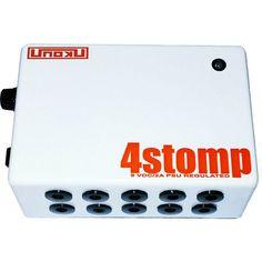 (READY STOCK !) Unoku Power supply efek gitar 4stomp (V2)