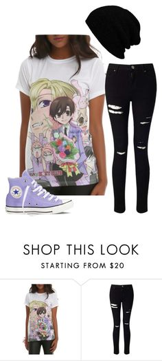 """Untitled #369"" by blueflower369 ❤ liked on Polyvore featuring Miss Selfridge and Converse"