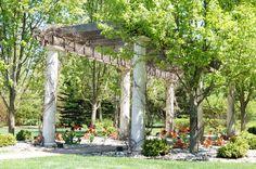 Gorgeous pergola and walkway. The Vande Hey Company, Inc.
