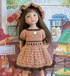 "Peanut Butter Cup for 13"" Dianna Effner Studio's Little Darlings Dolls | eBay"
