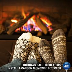 Are you prepared for the cold season? Gear up with a #CarbonMonoxide detector and take a stand against the silent threat. #StaySafe #WinterSafety #ADT