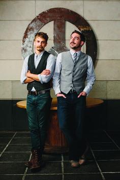 Scott Martin (pictured left) and Chris Sowers (right) of Second Bar + Kitchen | TRIBEZA Austin Magazine