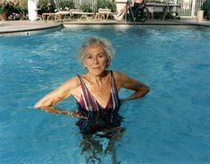 Mom in Pool, 1990 - Larry Sultan, Pictures From Home