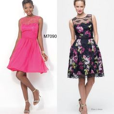 Sew the Look: Need a dress to wear to a wedding or special event this season? McCall's M7090 lace dress sewing pattern lets you play around with all sorts of fabric overlay options.