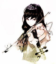 tumblr anime girl music - Buscar con Google