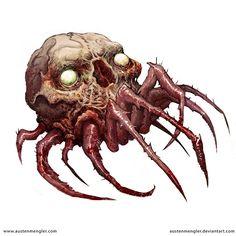 Spider-Skull by AustenMengler.deviantart.com on @DeviantArt