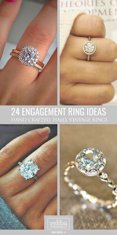 18 Utterly Gorgeous Engagement Ring Ideas ❤️ We hope these perfect engagement ring ideas inspire you to make a right choice. See more: http://www.weddingforward.com/engagement-ring-inspiration/ #wedding #ring #engagement