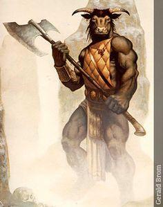 Minotauro - Seres Mitológicos y Fantásticos