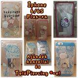 Iphone 6/S Plus-ra hátlapvédő tokok TelóGyűrű ®-vel, ajándékokkal :)