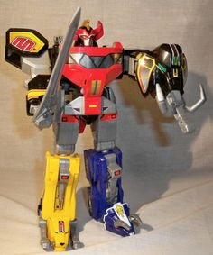 Vintage Power Ranger transformer toys