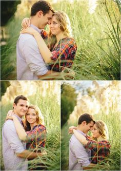 Fall farm engagement photos in Knoxville Tennessee. Click to view more of these fall engagement pictures.