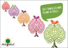 #ArborWeek #TangledTree