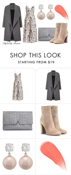 """""""Untitled #435"""" by stencie on Polyvore featuring beauty, Zimmermann, Miss Selfridge, Vince, Gianvito Rossi, Burberry and coolcorals"""