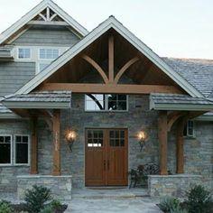 rock exterior homes - Bing Images