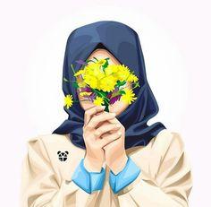 it about muslim girl and boy Hijabi Girl, Girl Hijab, Girl Cartoon, Cartoon Art, Hijab Drawing, Army Drawing, Tmblr Girl, Islamic Cartoon, Hijab Cartoon