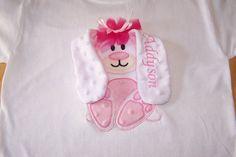 Floppy Ear Easter Bunny Shirt Boy Girl by kountrydelites on Etsy, $22.00 so cute!