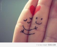 Finger hugs #SweetLeafTea #Grannyisms