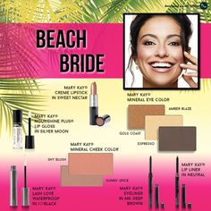 Beach Bride...Mary Kay Bridal Beauty. www.marykay.com/astrong