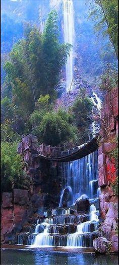 napali cliffs kauai hawaii waterfall - Google Search