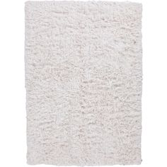 Jaipur Rugs RUG104330 Shag Solid Pattern Polyester Ivory/White Area Rug ( 8x10 )