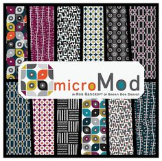 MicroMod from Cloud 9 -- for Friday's Fabric Giveaway with Stash Fabrics!! by maureencracknell, via Flickr