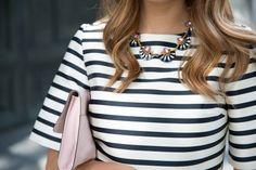 Springtime stripes.