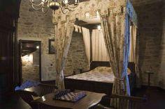Guest Bedroom on Second Level | Medieval Castle de Montbrun, Dournazac, Haute-Vienne, France