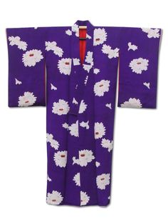 Fuji Kimono Christmas gift idea No.1 ☆ 'Casino Royale' #women's #purple #floral #silk #kimono -£135 Last posting date Dec 20th!  http://www.fujikimono.co.uk/fabric-japanese/casino-royale.html #Christmas #giftideas #fashion #kawaiI #cosplay #HyperJapan