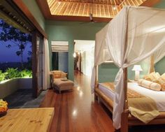 Dormitorios exóticos...