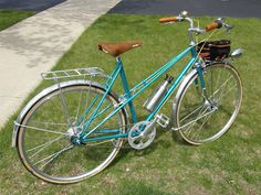 1980 Peugeot UO19C Mixte by Sly Red, Chicago, via Flickr