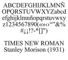 Homenaje e historia de la Times New Roman
