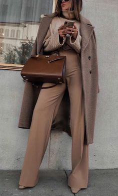 Casual Fall Outfits, Winter Fashion Outfits, Classy Outfits, Autumn Winter Fashion, Stylish Outfits, Office Outfits, Fall Winter, Minimal Fashion, Fashion Looks