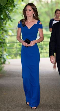 Kate Middleton Hits a Home Run in a Royal Blue Gown at SportsAid Gala