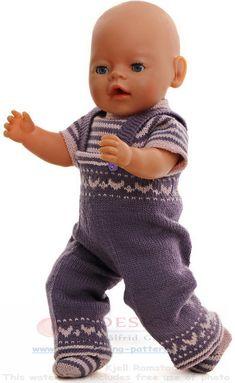 Modele de poupee en tricot