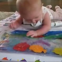 The Babys, Baby Tummy Time, Baby Time, Easter Crafts, Crafts For Kids, Diy Crafts, Thanksgiving Crafts, Easter Decor, Sharpie Crafts