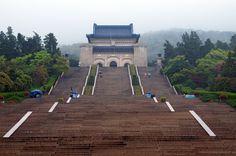 Sun Yat-Sen's Mausoleum in Nanjing, China