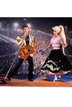 1997 Barbie Loves Elvis giftset