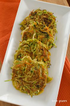 Vegetable Fritters | Little Grazers