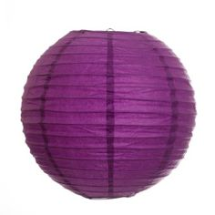 Koyal 12-Inch Paper Lantern, Plum Purple by Koyal. $10.25. Perfect for catered presentations, weddings, bridal and baby showers, birthdays, classic candy buffets, dessert tables and more. Traditional round paper lantern with easy assembly instructions. Pair this with other Koyal Wholesale products, such as vases, event decorations, lighting, DIY craft supplies and dessert and candy buffet supplies. Wire insert allows for easy hanging. Light Kit Sold Separately. ...