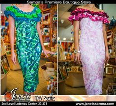 Presenting TAV Pacific Style AT140-Ruffle. For Island Formals. New Styles with the classic style and comfort that TAV provides. More colors and designs at Janet's. See the latest collection in Store Now at Janet's.  TAV PACIFIC - A Premiere Fashion Brand of the Pacific  Janet's ●► http://www.facebook.com/wheresamoashops janetssamoa.com     2nd level Lotemau PH: 23371  ‪#‎tav‬ ‪#‎samoa‬ ‪#‎samoashopping‬ ‪#‎pacificfashion‬ ‪#‎couture‬ ‪#‎fashion‬ ‪#‎pacificlothing‬