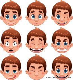 Vector Boy Expressions