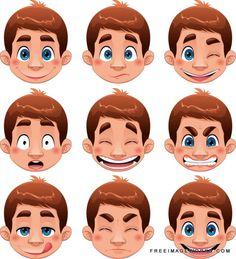 Vector Boy Expressions
