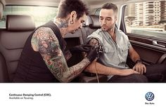 Volkswagen - Continuos Damping Control (CDC) by Toño Cué, via Behance