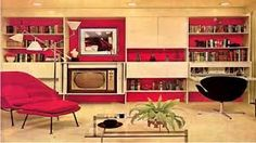 More pictures from Vintage Living Room Interior Design From Late Décoration Mid Century, Mid Century Decor, 1970s Decor, Retro Home Decor, Retro Room, Vintage Room, Vintage Pink, Vintage Homes, Mid-century Modern